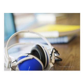Pair of Headphones Postcard