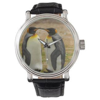 Pair of King Penguins, Falklands Wrist Watch