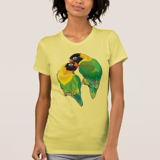 pair of masked lovebirds shirts