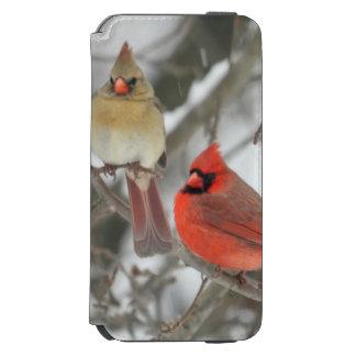 Pair Of Northern Cardinals Incipio Watson™ iPhone 6 Wallet Case