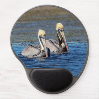 Pair of Pelicans Gel Mouse Mat