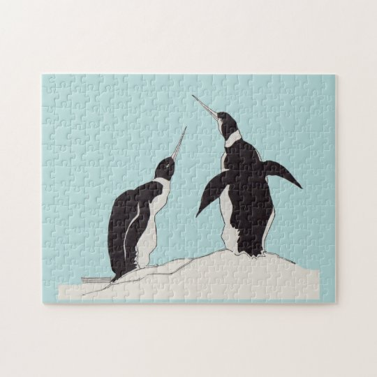 pair of penguins jigsaw puzzle