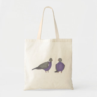 Pair of Pigeons Tote Bag
