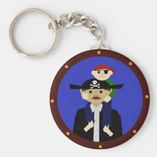 Pair of Pirates Key Chain