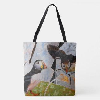 Pair of Puffins Bag