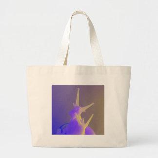 Pair of Purple Snails Large Tote Bag