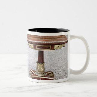 Pair of Regency card tables on quadruple bases Two-Tone Coffee Mug