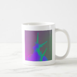 Pair of Snails in psychadelic colours Coffee Mug