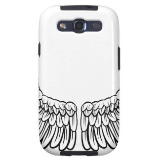 Pair of Spread Wings Galaxy S3 Cover