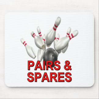 Pairs & Spares Bowling Mouse Pad