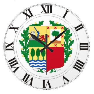 Pais Vasco (Spain) Coat of Arms Large Clock