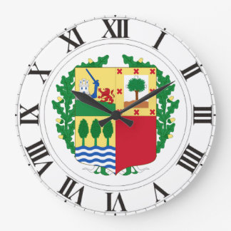 Pais Vasco (Spain) Coat of Arms Wallclocks