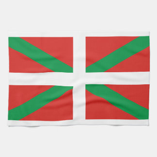 Pais Vasco (Spain) Flag Kitchen Towels