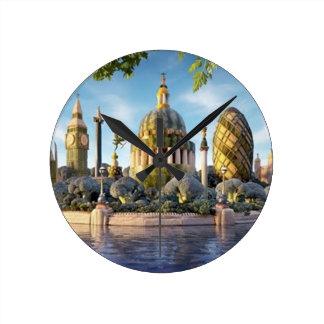 Paisaje Londres del reloj Clock