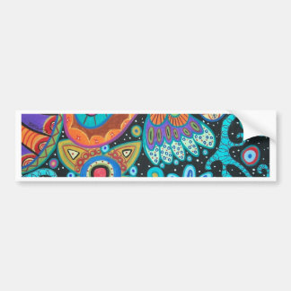 Paisley Art image products items Car Bumper Sticker