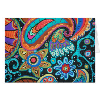 Paisley Art image products items Card