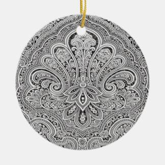 Paisley Art Ornament