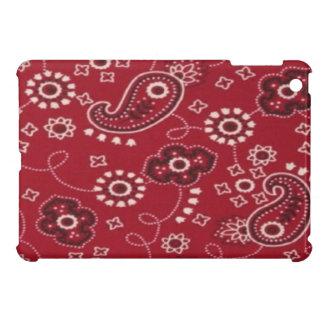 Paisley Bandana Red iPad Mini Glossy Finish Case iPad Mini Cases