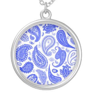 Paisley Blue Pendant by Julie Everhart