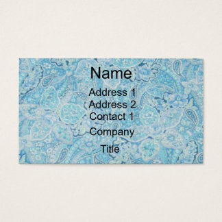 Paisley Blues Business Card