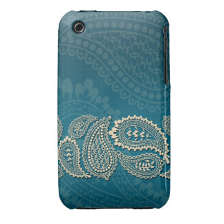 Paisley Border Barely There 3G/3GS Case