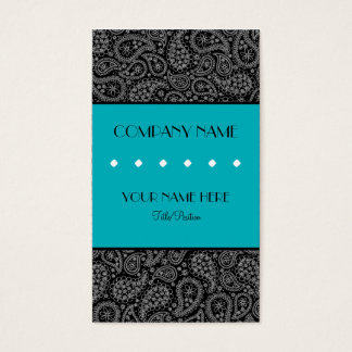 Paisley Business Card