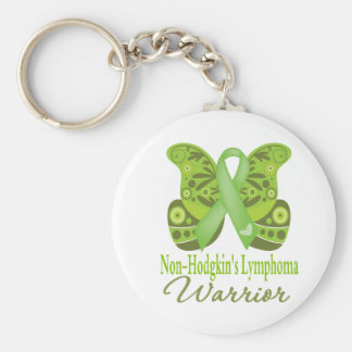 Paisley Butterfly - Non-Hodgkins Lymphoma Warrior Key Chains