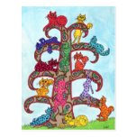 Paisley Cat Tree of Life