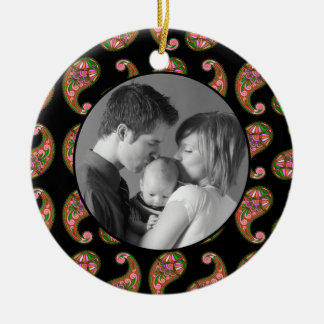 Paisley Christmas Ornament