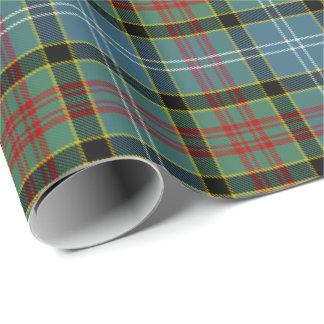 Paisley Clan Tartan Wrapping Paper