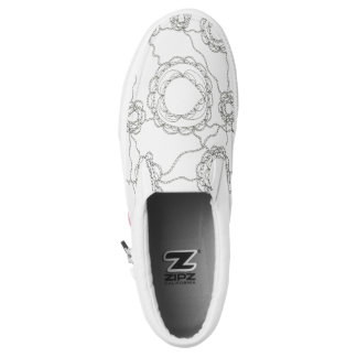 Paisley Color It Yourself Slip-On Shoes