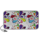 Paisley Colorful Travel Speakers