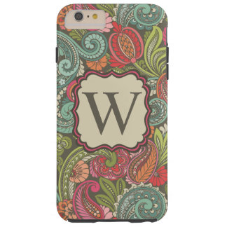 Paisley Cyngalese Tough iPhone 6 Plus Case