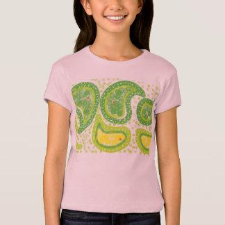 Paisley Design Girls Tee