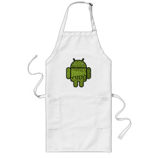 Paisley Doodle Character for Android™ Apron