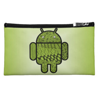 Paisley Doodle Character for Android™ Makeup Bag