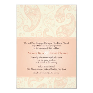 Paisley Dreams Wedding Invitation