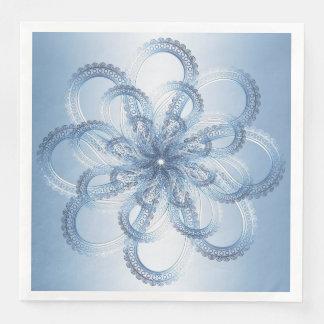Paisley element. paper serviettes