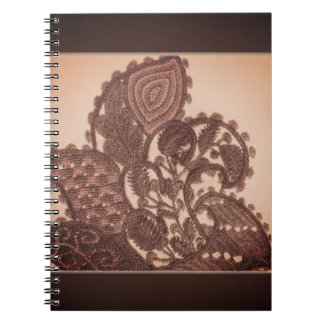 Paisley Embroidery Notebook