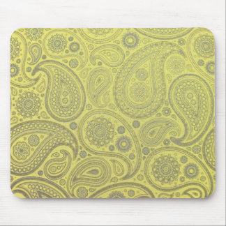 Paisley fabric vintage look mouse mat