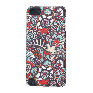 Paisley Floral Doodle Pattern iPod Touch 5G Cover