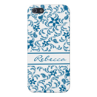 Paisley Garden with color change option iPhone 5 Case