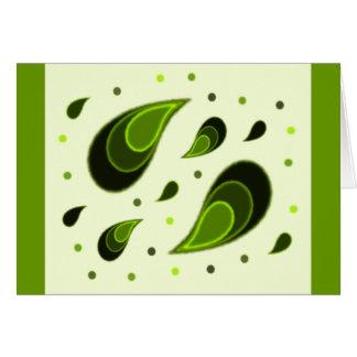Paisley Green Card