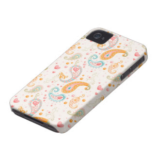 Paisley iPhone 4/4S Case Mate Case