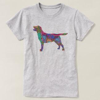Paisley Labrador T-Shirt
