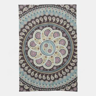 Paisley Mandala Tea Towel