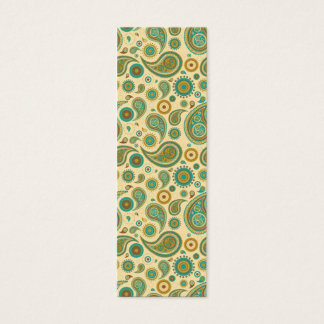paisley mini business card
