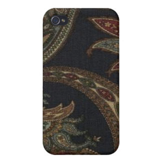 Paisley Navy Wine Olive Sage Speck Case iPhone4 iPhone 4 Cases