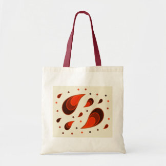 Paisley Orange Tote Bag
