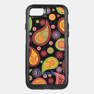 Paisley OtterBox Commuter iPhone 8/7 Case